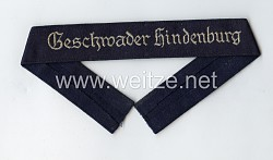 "Cuff title ""Geschwader Hindenburg"" for enlisted men"