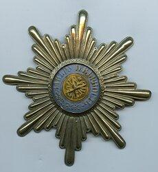 Rußland Schabrackenstern für Mannschaften Garde-Chevalier-Regiment