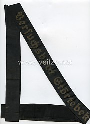 "Kriegsmarine Mützenband ""Versuchsboot Störtebeker"""
