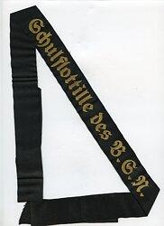 """Kriegsmarine Mützenband """"Schulflottille des B.S.N."""""""