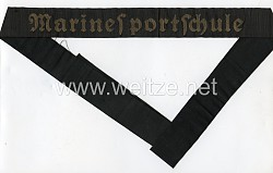 "Mützenband ""Marinesportschule"""