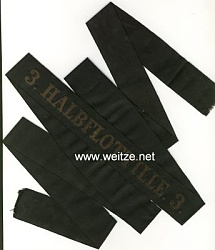 "Mützenband ""3. Halbflottille 3."""