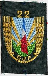 """Frankreich Vichy Regierung """" Chantiers de la Jeunesse groupemnet 22"""""""