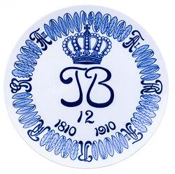 """Meissen-Regimentsteller """" Sächsisches 1.Train Bt. Nr. 12 """""""