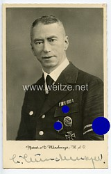III. Reich - Originalunterschrift von Pfarrer a.D. Münchmeyer, M.D.R.