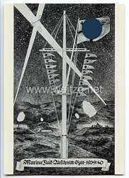 Kriegsmarine - Propaganda-Postkarte der Marine Flak - Abschnitt Sylt 1939/40