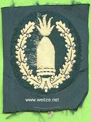 Wehrmacht Heer Ärmelabzeichen für Geschützführer