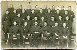Gruppenfoto finnische Soldaten