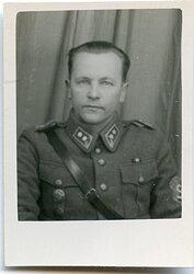Foto finnischer Soldat