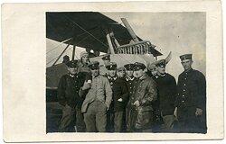 1. Weltkrieg Fliegerei - Gruppenfoto