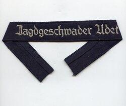 "Luftwaffe Ärmelband ""Jagdgeschwader Udet"" für Mannschaften"