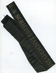 """Reichsmarine Mützenband """"II.A. Schiffsstammdivision der Nordsee II.A."""""""