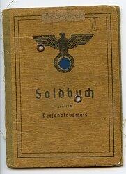 Soldbuch für einen Unteroffizier in der 1. Kosaken-Division