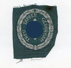 SD/Schutzmannschaften Ärmelabzeichen für Führer