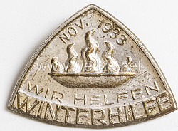 "III. Reich - "" Winterhilfe - wir helfen Nov. 1933 """