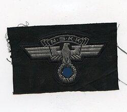 NSKK-Adler für die Schaftmütze