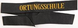 "Mützenband ""Ortungsschule"", Bundesmarine"