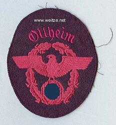"""III. Reich Feuerwehr Ärmeladler """" Ollheim """""""