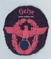 """III. Reich Feuerwehr Ärmeladler """" Oelze """""""