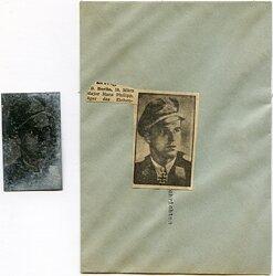 Luftwaffe Druckplatte Ritterkreuzträger Hauptmann Philipp