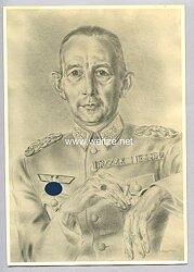 Wehrmacht - Bild von Generalleutnant Erich Lüdke Befehlshaber vom Wehrkreis X