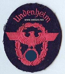 """III. Reich Feuerwehr Ärmeladler """" Undenheim """""""