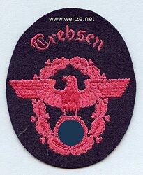 """III. Reich Feuerwehr Ärmeladler """" Drebsen """""""