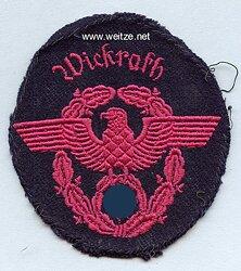 """III. Reich Feuerwehr Ärmeladler """"Wickrath """""""
