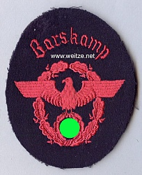 "III. Reich Feuerwehr Ärmeladler "" Barskamp """