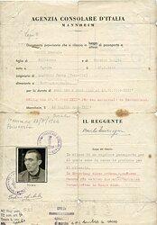 Italienisches Konsulat in Mannheim - Aufenthaltsgenehmigung