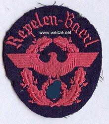 "III. Reich Feuerwehr Ärmeladler "" Repelen - Baerl """