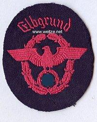 """III. Reich Feuerwehr Ärmeladler """" Elbgrund """""""