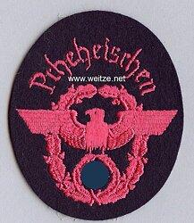 """III. Reich Feuerwehr Ärmeladler """" Prheheischen """""""