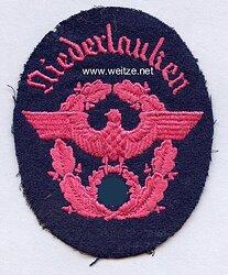 """III. Reich Feuerwehr Ärmeladler """" Niederlaukien """""""