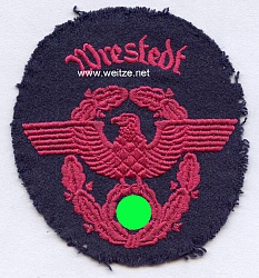 """III. Reich Feuerwehr Ärmeladler """" Wrestedt """""""
