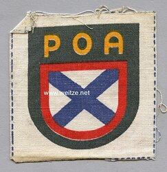 Wehrmacht Heer Ärmelschild der Russischen Befreiungsarmee POA