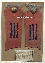 Russland 1. Weltkrieg: Uniform Effekten aus der Sammlung eines österreichischen Offiziers