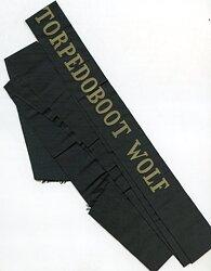 """Reichsmarine Mützenband """"Torpedoboot Wolf"""""""