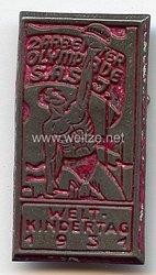Sozialismus - 2. Arbeiter Olympiade S.A.S.J. Welt-Kindertag 1931