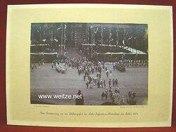 """Großes Foto """" Zur Erinnerung an das Stiftungsfest des Lehr-Infanterie-Bataillons im Jahre 1904 """""""