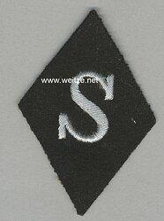 Waffen-SS Ärmelraute für Schirrmeister