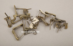 """1. Weltkrieg : feldgraue Regiments-Nummern """"7"""" für Schulterstücke"""