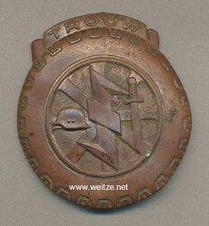 Treueabzeichen für die holländischen Freiwilligen der NSKK Gruppe Luftwaffe