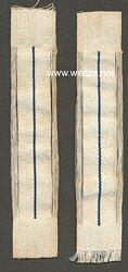 Preußen 1. Weltkrieg Paar Kragenspiegel für Mannschaften der Garde