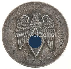 """HJ nichttragbare Siegerplakette """"Bann-Untergau-Schi-Meisterschaften 1941"""""""