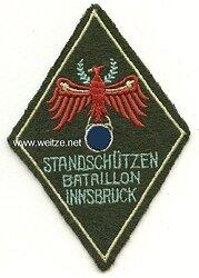 """Wehrmacht Volksturm Ärmelabzeichen """"Standschützen Bataillon Innsbruck"""""""