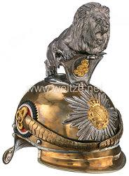 Sachsen Helm für Offiziere im Garde-Reiter-Regiment