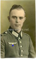 Koloriertes Foto eines Angehörigen der Wehrmacht im Inf. Regt.59