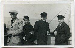 Foto eines Mitgliedes der Deutschen Arbeitsfront (DAF)