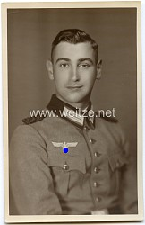 Portraitfoto eines Beamten der Wehrmacht (Mannschaften)